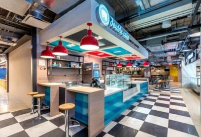 El Mercado cuenta con 15 estaciones culinarias.